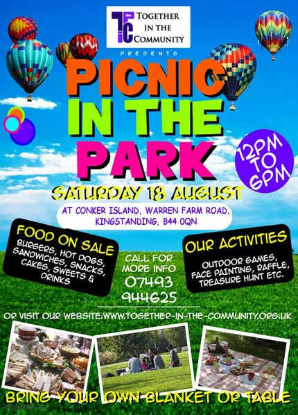 Flyer - Picnic in the Park