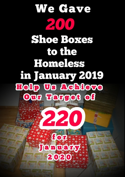 Homeless Shoe Box Project Article 2