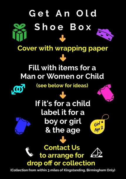 Homeless Shoe Box Project Article 3